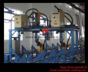 China Automatic Gantry I / T / H Beam Production Line Auto Welding Machine , Gantry Welding Tools on sale