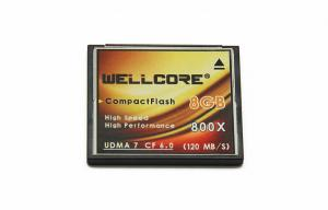 China 8GB 50pin CF Memory Cards Compact Flash For Digital SLR Camer , High Speed on sale