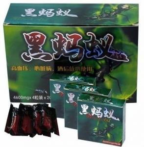 China Energy Level  Black Ant Male Enhancement Man Sexual Delay Capsule 4600mg on sale