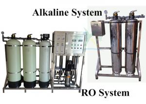 China 5 Stages Mineral Ultrapure Water System / Alkaline Water Filter 400GPD 1000LPH on sale