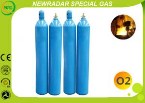 China O2 Oxygen Gas High Purity Gases CAS 7782-44-7 , UN1072 Oxygen Tank on sale