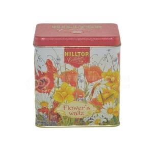 China Customized promotional printed square metal tea tin box scented tea tins on sale