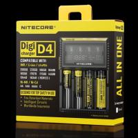 Nitecore D4 LCD intelligent battery charger for IMR/Li-ion/Ni-MH/Hi-Cd and LiFePO4 rechargeable batteries