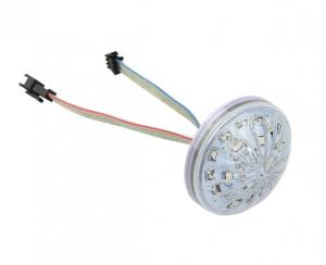 China 60mm Cabochon cap led pixel light,led amusement light on sale