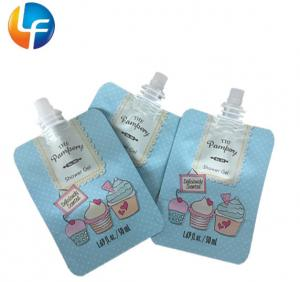 Quality Reusable plastic bag for liquid spout pouch juice plastic bag for fruit juice for sale