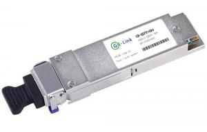 Quality 4 Channel QSFP + Optical Transceiver Modules 850nm 150M on OM3 Multimode Fiber for sale