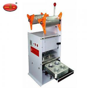 China X01581 Boba Tea Cup Sealing Machine,Cup Sealer,Powder Packing Machine on sale