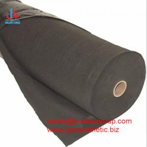 China PET staple fiber non woven geotextile for slope protection on sale