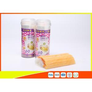 Quality Waterproof Packaging Custom Printed Ziplock Bags , Small Resealable Plastic Bags for sale