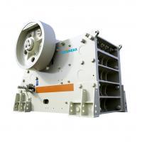 Diesel Engine Jaw Rock Crusher / High Capacity Iron Ore Jaw Crusher 6.45T