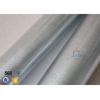 China Reflective Aluminium Foil Silver Coated High Silica Glass Fiber 700gsm 0.8mm on sale