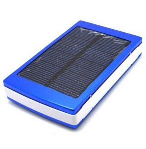 China 10000mAh Portable Solar Charger Portable Power Bank External Backup Battery on sale