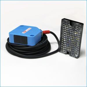 China 220VAC Relay Type Retro-reflective Square Photoelectric Sensor Switch 4m Sensing on sale