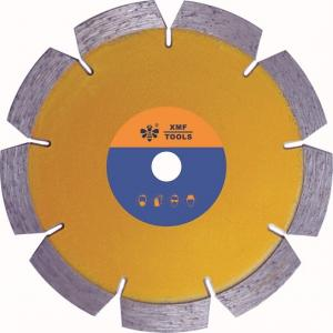 China Sintered Tuck Point Segmented Diamond Saw Blade , 4 Inch Concrete Cutting Disc on sale