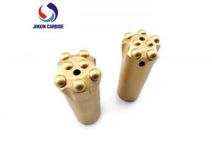 China Ballistic And Spherical Rock Hammer Drill Bits Carbide Steel Material Type on sale