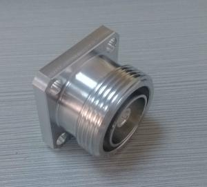 China High quality fange straight rf coaxial 7/16 DIN connectors with cable on sale