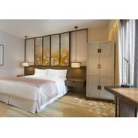 China Solid Wood Modern Luxury Hotel Furniture Rustic Style For Guest Room on sale