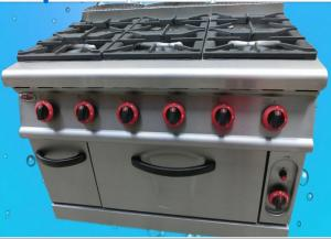 China Commercial Convection Fan Gas Electric Oven With 2 Halogen Lights / Adjustable Legs on sale