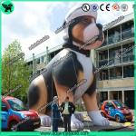 High Quality Custom Made Advertising Inflatables , Lovely Puppy Inflatable Dog