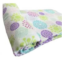 100% Organic Cotton Baby Muslin Swaddle Blanket ,Wrap Diaper