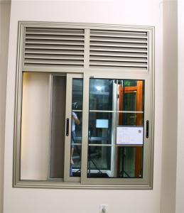 China 72 series sliding  aluminum glass window foshan window on sale