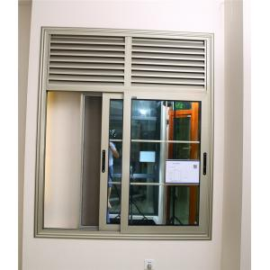 China 72 series sliding window aluminum glass window long life durable on sale