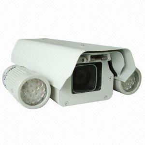 China Vivienda/recinto de la cámara con la distancia de la iluminación del IR LED/120m del externo, limpiador opcional Blade/IP66 on sale
