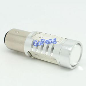 China 1156 6W 24V Lens S25 Single Contact Low Power Consumption White Car LED Turn Signals on sale