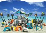 Preschool / Outdoor Children'S Backyard Playground Equipment , Eco Friendly