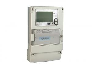 China 3 x 240 / 415V LCD Display 3 Phase 4 Wire Multi Function Power Electric kWh Meter on sale