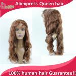 2015 New Brazilian full lace human hair wigs Full Lace Front Wig Natural body wave wigs for black women hair In Instock