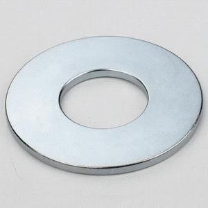 China Powerful Permanent  Neodymium Speaker Magnets with Zinc Plating on sale