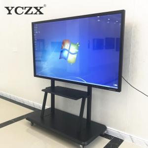 China 65 Inch Multi Touch Screen Monitor / Interactive Panel Board For Classroom on sale