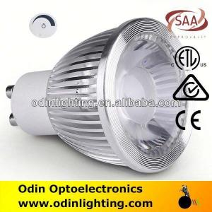 China halide lamps dimmable good quality cob led spotlight gu10 on sale