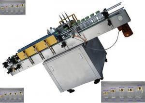 China Self Adhesive Automatic Label Applicator Machine For Hot Melt Glue / Bopp Labeling on sale