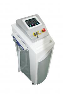China Mini Q Switch ND Yag Laser Tattoo Removal Equipment With Color Touch LCD Screen on sale
