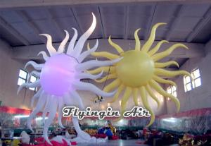 China 2m Height Inflatable Sun with Light for Club and Concert Decoration on sale