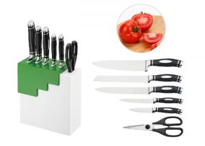 China Anti Oxidant Kitchen Knife Block Set CE / EU Standard For Household on sale