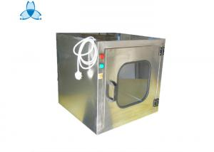 China Small Area Economy Clean Air Shower Pass Box For Hospital Operating Room on sale