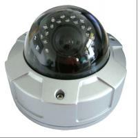 Weatherproof Night Vision WDR Dome Camera With IR LEDs , IR 40m
