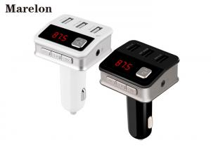 China 3 Usb Port Bluetooth Car Charger Automatic Power - Off Memory With FM Radio on sale