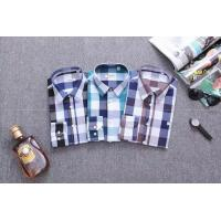 Burberry long shirts men plaid shirts brand shirts designed clothing