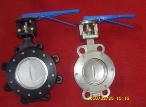 China High Performance Carbon steel Body ANSI 609 / ISO 5752, 2 inch Butterfly Valve on sale