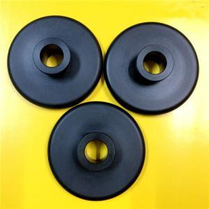 China Black Nylon 66 Plastic Machined Parts CNC Turning Simple Design Lightweight on sale
