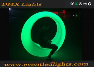 China Remote Control Garden Lighting LED Swing Chair 10 Colors Changed Outdoor Led Furniture on sale