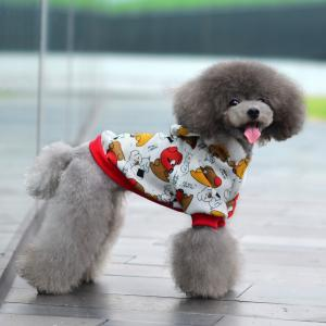 China Not fall cashmere Camouflage 100% Cotton Personalized Dog Clothes supplier