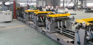 China High Speed Refrigerator Assembly Line For Cabinet Front And Rear Plate on sale
