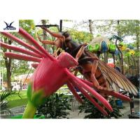 Zoo Park Outdoor Insect Sculpture , Handmade Animal Artificial Insect Statues