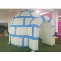 Flexible Inflatable Snow Igloo , Inflatable Kids Tent 4.22 X 3.7 X 3.0 MH