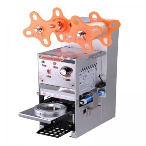 China Semi-automatic plastic Cup Sealing Machine Best Price on sale